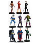 DC EAGLEMOSS FIGURE SET (9)