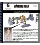 """The Walking Dead"" Army Men Woodbury Arena Survivor Set"