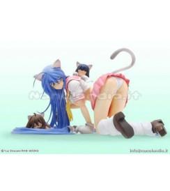PS Ikki Tousen - Kanu Unchou Nekomimi Pink Sailor Unif - 1/7 PVC