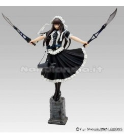 PS Ikki Tousen - Teni Battle Ver DX-Black Color - 1/7 PVC Statue