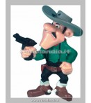 LUCKY LUKE JOE DALTON GUN FIGURE