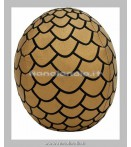 Peluches - Factory Entertainment - Game Of Thrones Dragon Egg Gold Plush
