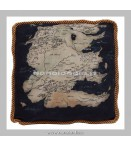 Peluches - Factory Entertainment - Game Of Thrones West Map South Pillow