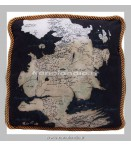 Peluches - Factory Entertainment - Game Of Thrones West Map North Pillow