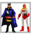 Action Figure - Diamond Select - *Set Bluntman & Chronic Retro Cloth (2)