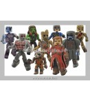 Figure - Diamond Select - Marvel Minimates S.57 Guarians Of The Galaxy (12 Pcs Case)
