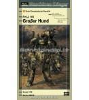 Model Kit - Hasegawa - Maschinen Krieger Humanoid Int Grober Mk