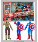 "Action Figure - Diamond Select - Captain America 8"" Retro Af Set"