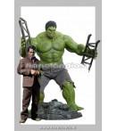 """Action Figure - Hot Toys - Avengers 12"""" Bruce Banner & Hulk Af Set"""