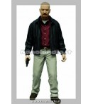 Action Figure - Mezco Toys - Breaking Bad Heisenberg Px Red Shirt Af