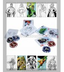 Accessori - Dc Direct - Dc Comics Justice League Start Poker Set