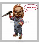 "Action Figure - Mezco Toys - Child Play 15"" Chucky Talking Af"