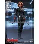 "Action Figure - Hot Toys - Avengers 12"" Black Widow Aou Af"
