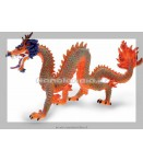 Figure - Plastoy - Dragons Red Chinese Dragon Figure