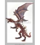 Figure - Plastoy - Dragons Skinned Dragon Figure