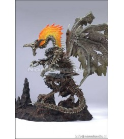 MCF DRAGONS 6 FOSSIL DRAGON DLX BOX AF