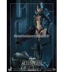 """Action Figure - Hot Toys - Alien Girl 12"""" Af"""