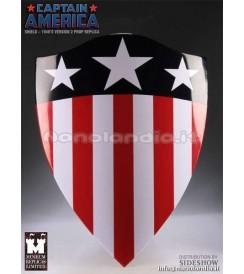 RE Marvel -  Captain America Shield - 1940's Version 2 - Replica