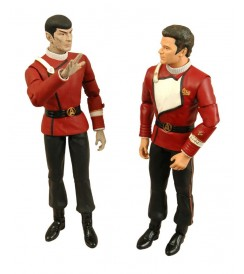 AF ST TWOK Death of Spock - 2 Pk Kirk and Spock - Figure Set