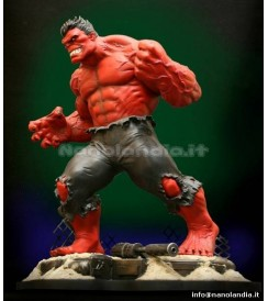 ST Marvel - Red Hulk - Statue
