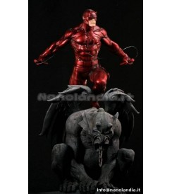 ST Marvel - Red Daredevil - Statue