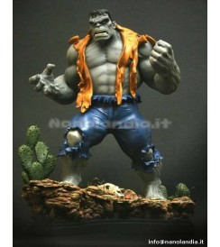 ST Marvel - Retro Grey Hulk - Statue