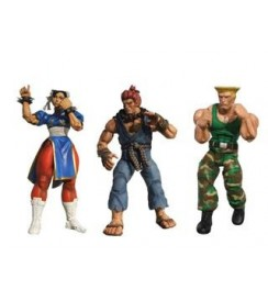 "AF Street Fighter 4 Series 2 - 7"" Figures Set (3)"