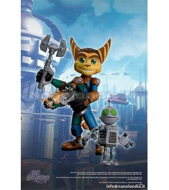 AF R&C Series 1 - Ratchet with Transforming Clank - Action Figur