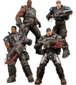 AF Gears of War - Delta Squad - Box Set