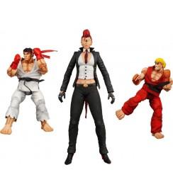 """AF Street Fighter 4 Series 1 - 7"""" Figures Set (3)"""