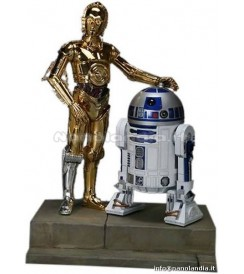 PS SW - C3PO & D2R2 - 1/7 Scale Statue