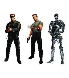 "AF Terminator 1 S. 1 - 7"" Figure Set (3)"